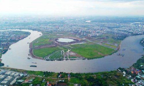 Bán đảo Hiệp Bình Phước, quận Thủ Đức.