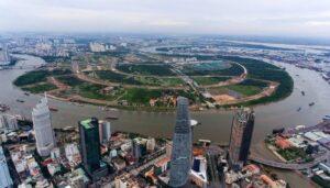 Tp.HCM sẽ đầu tư xây dựng dự án Quảng trường trung tâm và Công viên bờ sông trong khu đô thị mới Thủ Thiêm theo hợp đồng BT...