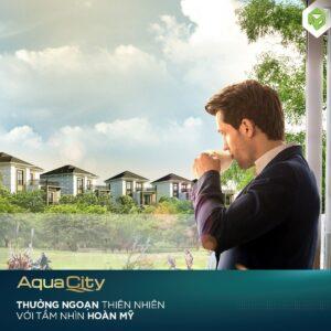 Thưởng ngoạn thiên nhiên với tầm nhìn hoàng mỹ tại Aqua City