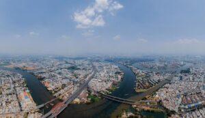 Nhà liền thổ trong các dự án ở Thành phố Hồ Chí Minh có giá bán đạt mức gần 110 triệu đồng cho mỗi m2 đất, tăng 24,7% theo năm.