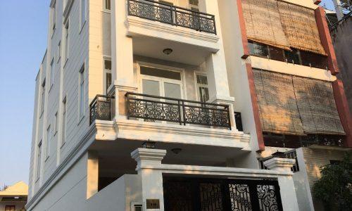 Nhà phố diện tích 72m2 khu dân cư Văn phòng Chí phủ phường Hiệp Bình Phước, quận Thủ Đức.
