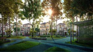 Brochure phân khu biệt thự The Grand Villas dự án đô thị sinh thái Aqua City của Novaland ở Đồng Nai