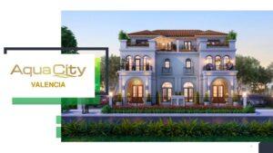 Phân khu The Valencia nhà phố biệt thự mang phong cách Địa Trung Hải.