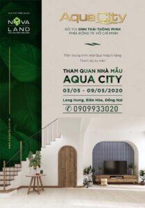Chính thức khai trương nhà mẫu dự án đô thị sinh thái thông minh Aqua City