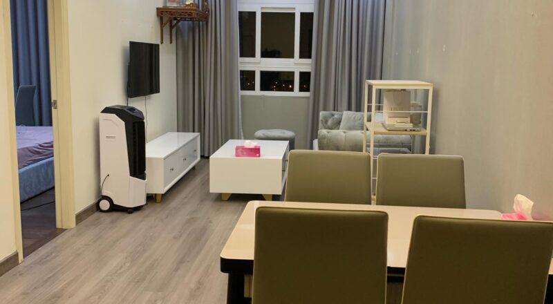 Nội thất phòng khách căn hộ Sunview Town diện tích 64m2 có 2 phòng ngủ ở Hiệp Bình Phước, quận Thủ Đức.