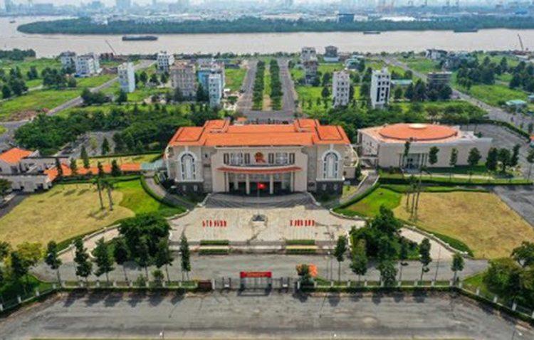 Trụ sở UBND quận 2 ở đường Trương Văn Bang được đề xuất làm trụ sở Thành ủy Thành phố Thủ Đức