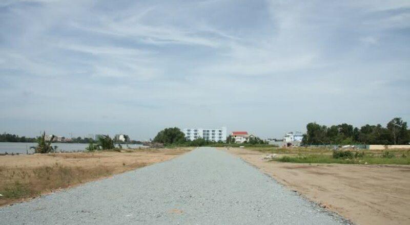 Khu đất sẽ phát triển dự án Saigonres Riverside ở phường Hiệp Bình Chánh, quận Thủ Đức.