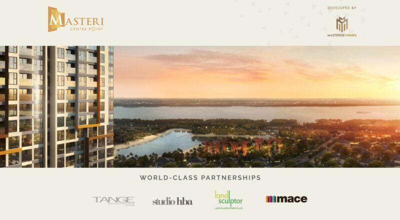 Dự án Masteri Centre Point được hợp tác giữa Masterise Homes và những đối tác hàng đầu thế giới.