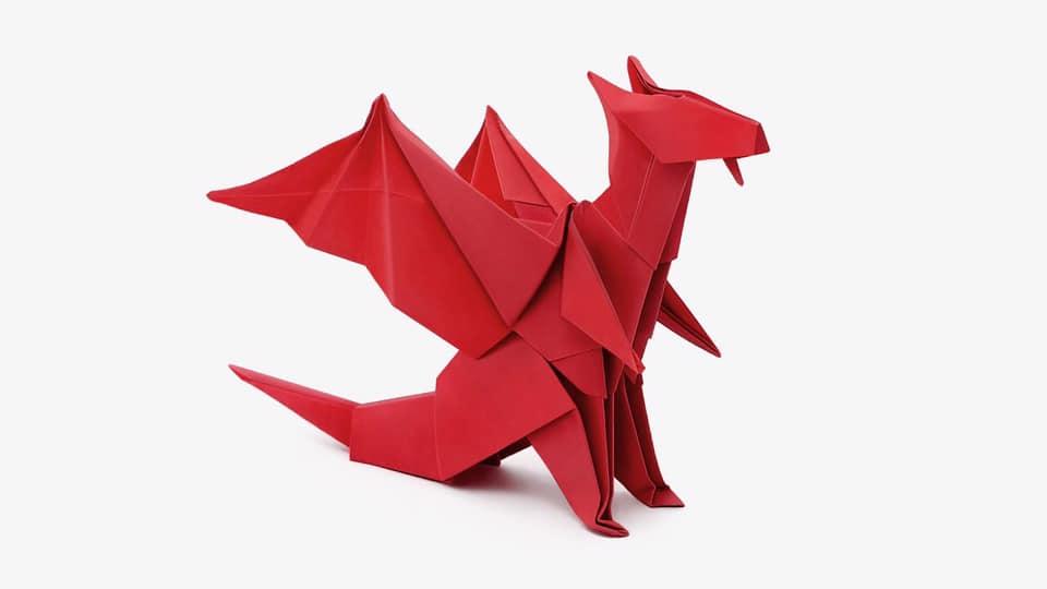 Origami nghệ thuật gấp giấy xuất xứ từ Nhật Bản trở thành biểu tượng của The Origami.