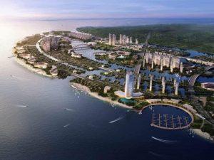UBND Thành phố Hồ Chí Minh ra 4 quyết định, duyệt quy hoạch Khu Đô thị lấn biển Cần Giờ gồm 4 phân khu chính.