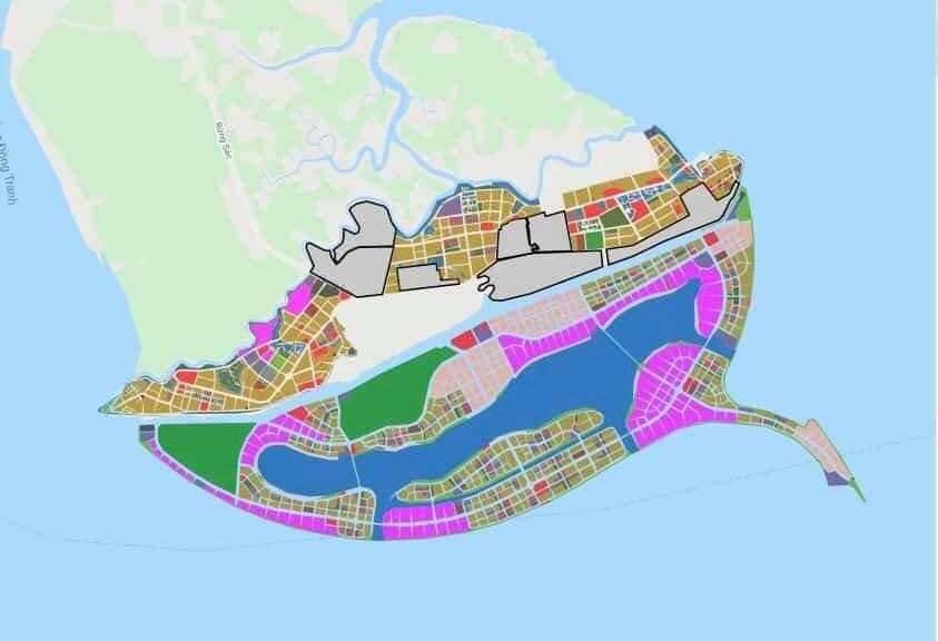 Thành phố vừa duyệt nhiệm vụ quy hoạch chi tiết tỷ lệ 1/500 Khu đô thị du lịch lấn biển Cần Giờ.