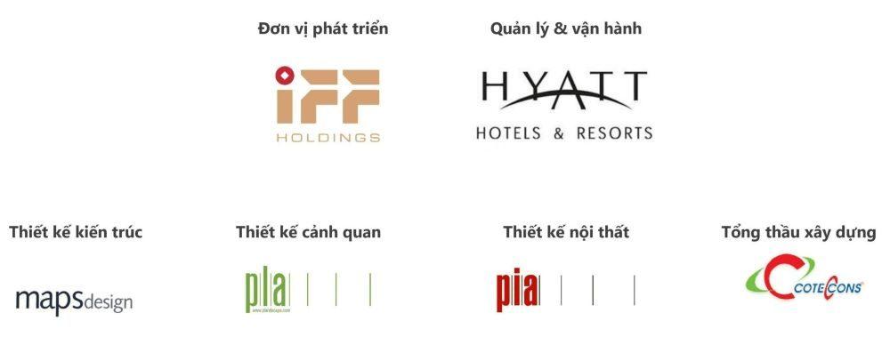 Đơn vị phát triển, đối tác quản lý Hyatt Regency và các đối tác khác của Hyatt Ho Tram.