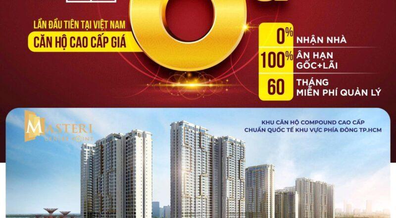 Sở hữu căn hộ cao cấp Masteri Centre Point chuẩn quốc tế tại Thành phố Thủ Đức với 0 đồng, đến nhận nhà mới phải thanh toán.