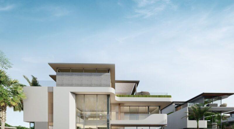 Mẫu biệt thự The Oasia thuộc dự án đô thị đảo nghỉ dưỡng SwanBao đảo Đại Phước sắp được ra mắt.