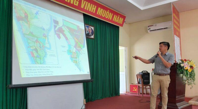 Đơn vị tư vấn thuyết minh nội dung quy hoạch khu du lịch phía tây nam Bãi Vòng ở Phú Quốc.