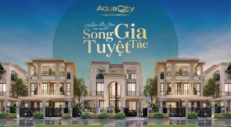Aqua City lần đầu tiên ra mắt biệt thự mini trên đảo Phượng Hoàng