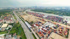 Cụm cảng ICD Trường Thọ ở phường phường Trường Thọ, thành phố Thủ Đức sẽ sớm được di dời về ICD Long Bình